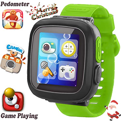 (Kids Game Smart Watch [AR Pro Edition] for Ages 3-12 Girls Boys Children Learning Wristband with 1.5'' Screen Camera Pedometer Alarm Clock Fitness Tracker Puzzle Digital Electronic Toy Gifts (2))