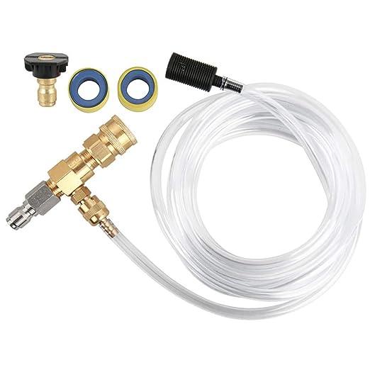 DEDC Kit de Inyector Químico Ajustable de Jabón para ...