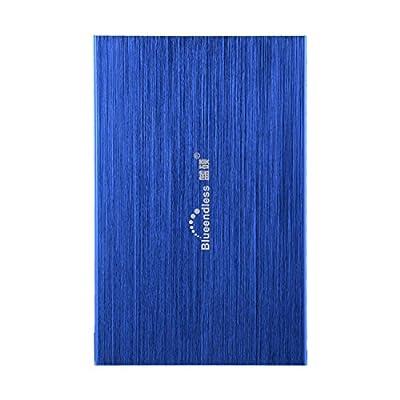 Blueendless 160GB Portable External Hard Drive USB2.0 Hard Disk Storage Devices Desktop Laptop (Blue) by Blueendless