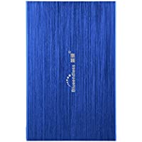 Blueendless 160GB Portable External Hard Drive USB Hard Disk Storage Devices Desktop Laptop (BLUE)
