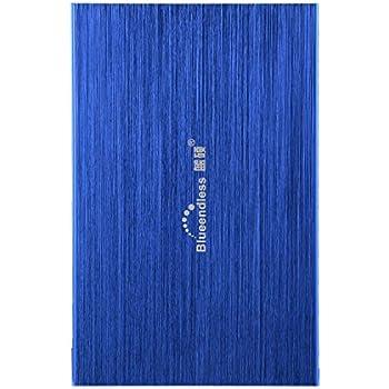 "2.5 "" Blueendless 120gb External Hard Drive Storage Devices Desktop laptop HDD (BLUE)"
