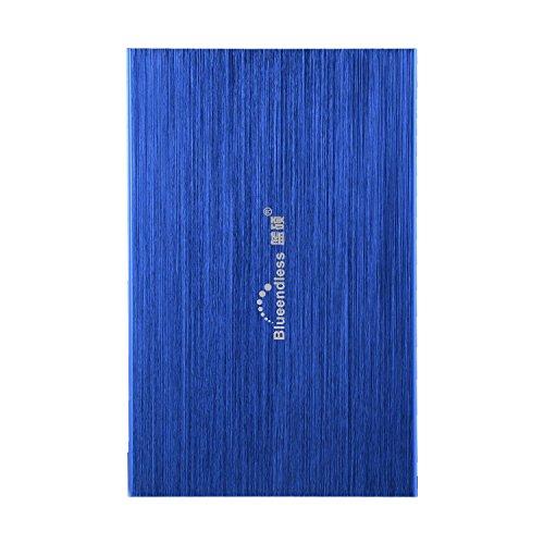 Blueendless 2.5'' 120gb External Hard Drive Storage Devices Desktop laptop HDD (BLUE) by Blueendless