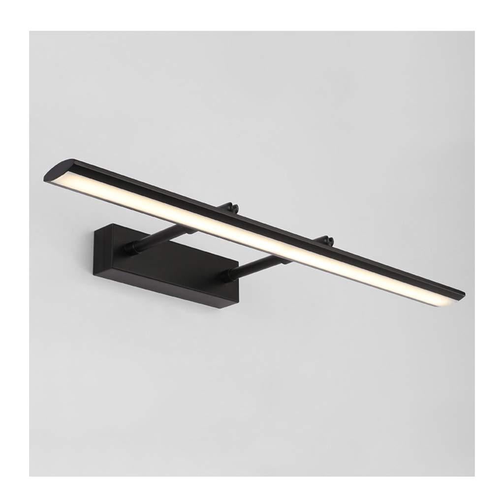 badezimmerlampe Einziehbare Spiegel Scheinwerfer, Led Wasserdichte Anti-fog Schminktisch Spiegel Lampe Bad Spiegel Kabinett Licht (Farbe   B-12W-49CM)