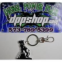 Mack truck dog semi bull dog bulldog keychain rubber