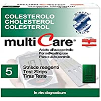 Gima MULTICARE® - Tiras de colesterol (25 unidades)