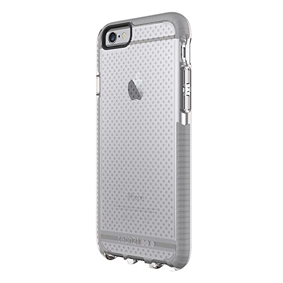 san francisco 0c47c 63dd3 Tech21 Evo Mesh for iPhone 6 Plus - Clear/Grey