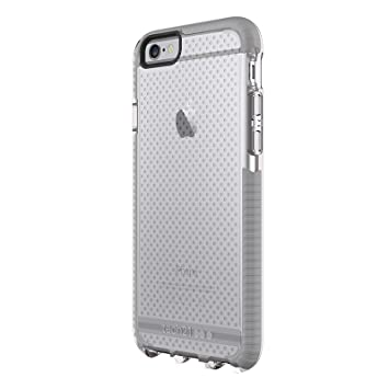 tech21 EVO Carcasa del Acoplamiento para Apple iPhone 6 Plus / 6S Plus (Claro/Gris)