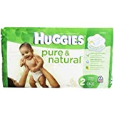 Huggies Pure and Natural Diapers, Size 2, Jumbo, 30 ct