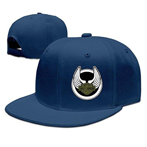MaNeg Harley Logo Unisex Fashion Cool Adjustable Snapback Baseball Cap Hat One Size - Boots Chanel Cheap
