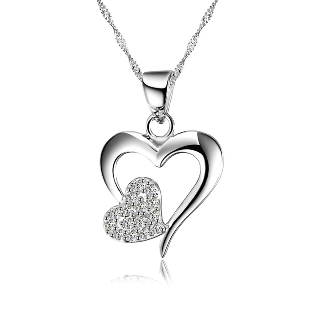 Love Heart Pendant Necklace ON...