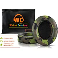Wicked Cushions Beats Replacement Ear pads - Compatible with Studio 2.0 Wired / Wireless Over Ear Headphones by Dr. Dre ONLY ( DOES NOT FIT SOLO 2.0 ) | Camouflaged