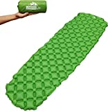 Outdoorsman Lab Ultralight Sleeping Pad - Ultra-Compact Backpacking, Camping, Travel w Air-Support Cells Design…