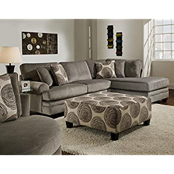 Amazon Com Chelsea Home Furniture Rayna 2 Piece Sectional
