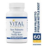 Vital Nutrients – Saw Palmetto / Pygeum / Nettle Root – Supports Healthy Prostate Function – 60 Capsules