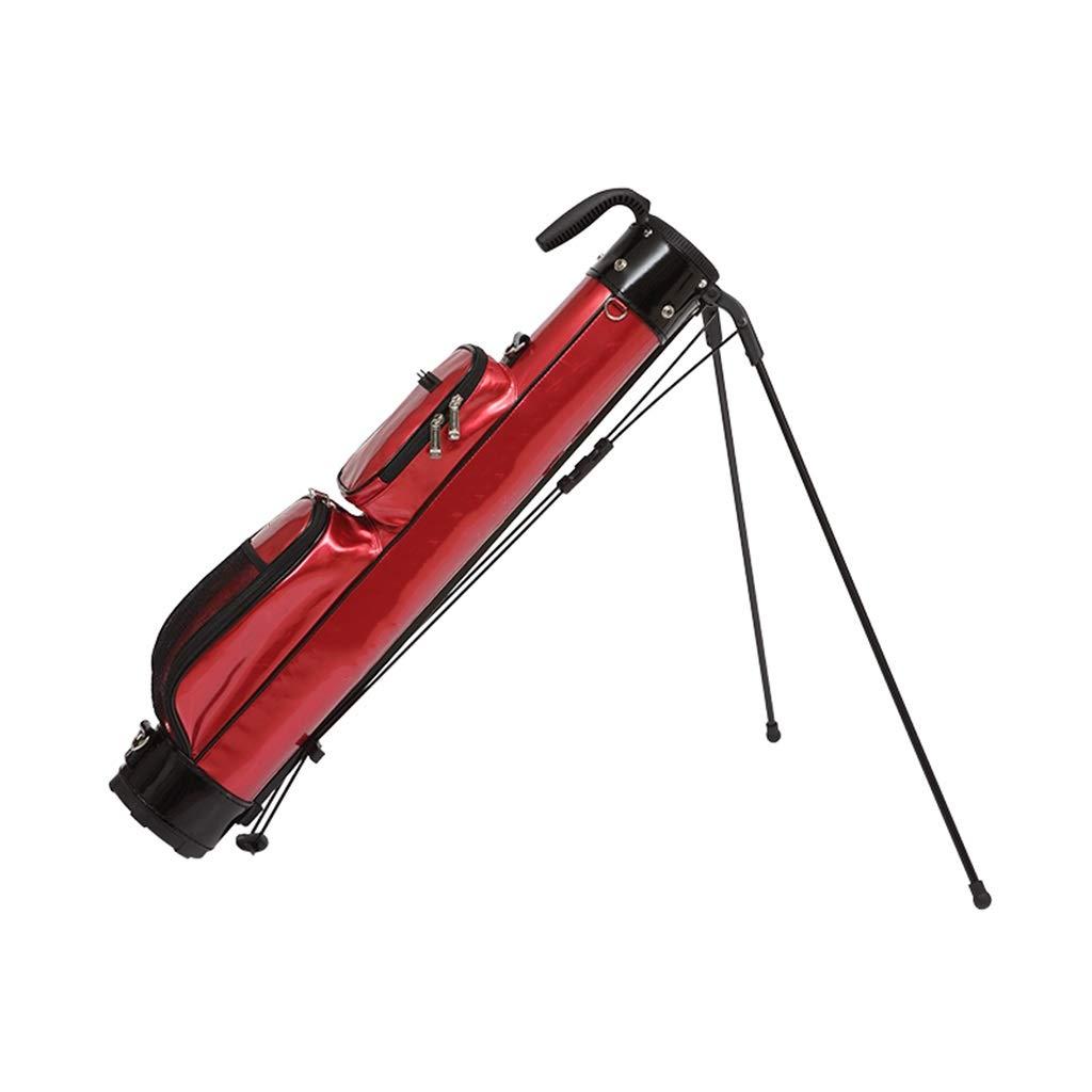 LIUXIN ゴルフスタンドバッグ、100%防水、軽量、ポータブル、マルチカラーオプション ゴルフバッグ (Color : 赤) 赤