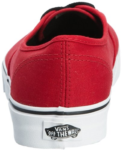 Vans U AUTHENTIC CHILI PEPPER/BL - Zapatillas de lona unisex Rojo (chili pepper/black)