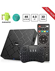 Android 8.1 TV Box Aumkoo HK1 Mini Inteligente de cuatro núcleos 64 bits 2 GB de RAM + 16GB ROM 4K TV Reproductor de medios H.265 Descodificación 2.4GHz WiFi - 2G / 16G