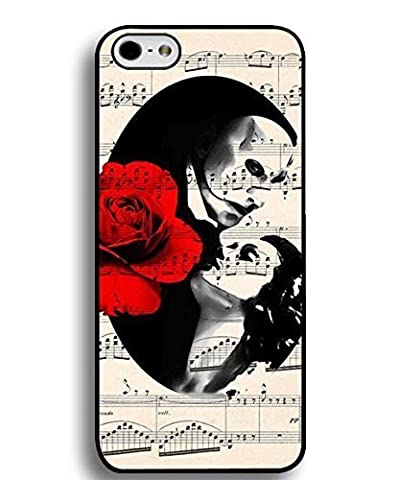 Phantom Of The Opera Phone Case Custom Well-designed Hard Case Cover Protector For Iphone 5 5S (Nokia 6233 Case)