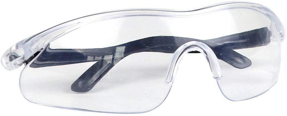 Adesign Gafas de Las Gafas Unisex de Seguridad Protección de los Ojos Gafas Tactical Polvo del Viento de Doble Resistente a los arañazos, Anti-Niebla de Lente Transparente