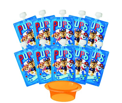 Paw Patrol Reusable Baby Food Storage Pouch - Make Organic F