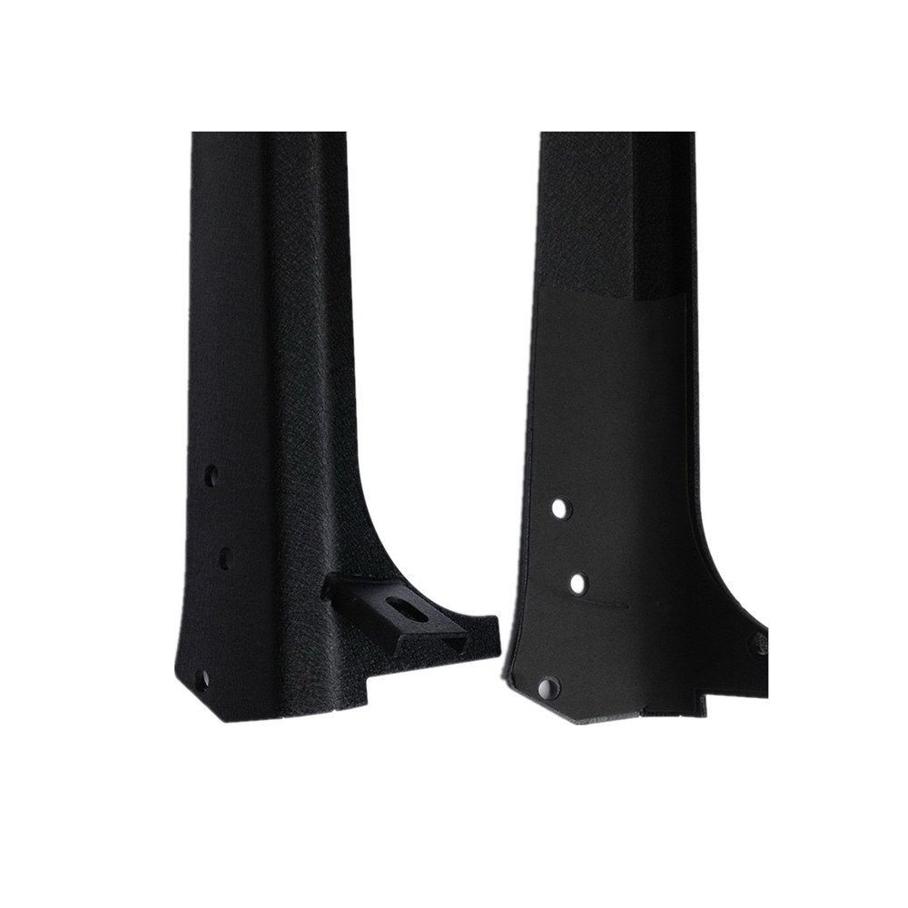 Lantsun Black Steel Upper Windshield Mounting Brackets with A-Pillar Bracket for 52 Inch Light Bar Fit 97-06 Jeep Wrangler Tj//Lj J134 Lantsun Group Co 1 Pair Ltd J134-J134