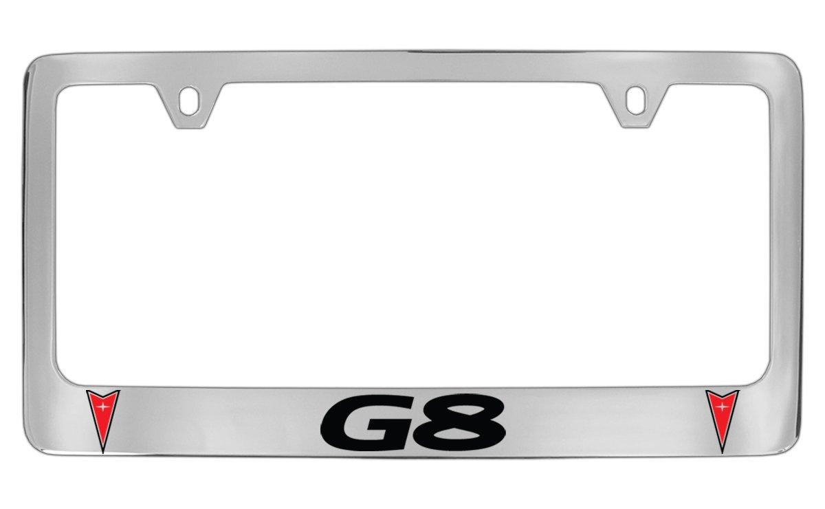 Pontiac G8 Metall Chrom Nummernschild Rahmen Halterung: Amazon.de: Auto
