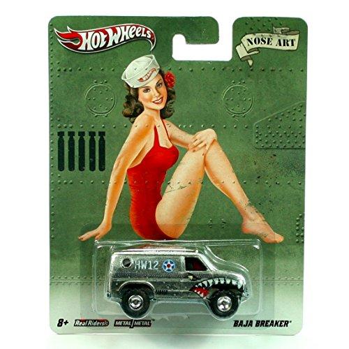 BAJA BREAKER * NOSE ART * Hot Wheels 2011 Nostalgia Series 1:64 Scale Die-Cast Vehicle