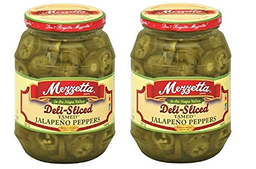 (Jalapeno Peppers Deli Sliced Tamed 32 fl Oz PK of 2 Kosher Spicy By Mezzetta)