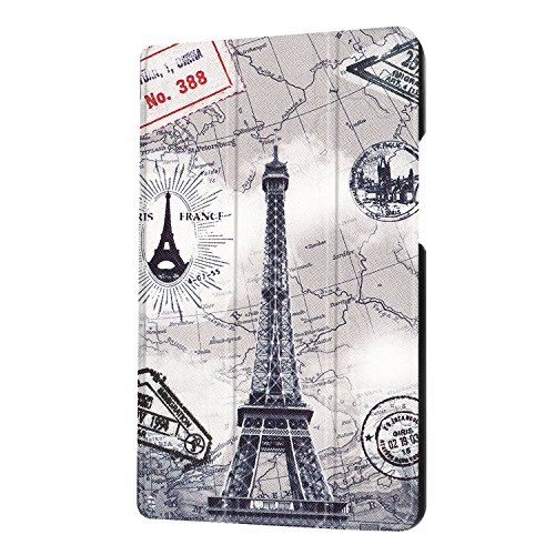 Slim Case W09 KOB Huawei 0 T3 Case 8 0 2 L09 For Pad Back Inch Cover MediaPad 8 Play Hard Trifold Honor Maeco Stand tower T3 Ultra Huawei KOB Eiffel MediaPad A Smart window Church Painting 1TxT78