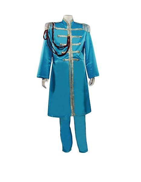 British Explosion 60s Beatles Long Nehru Jacket Costume 2 Colors