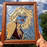 Blondie Stained Glass Window Art Sun Catcher, debbie Harry