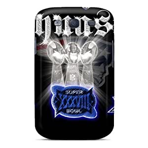 Case Cover New England Patriots/ Fashionable Case For Galaxy S3