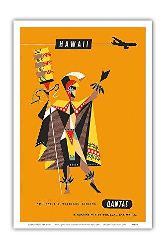 hawaii-qantas-airways-royal-hawaiian-alii-vintage-hawaiian-travel-poster-by-harry-rogers-c1960-hawai
