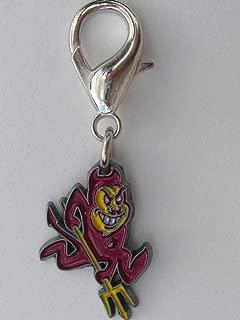 product image for Diva-Dog NCAA 'Arizona State (ASU) Sun Devils' Licensed College Team Dog Collar Charm