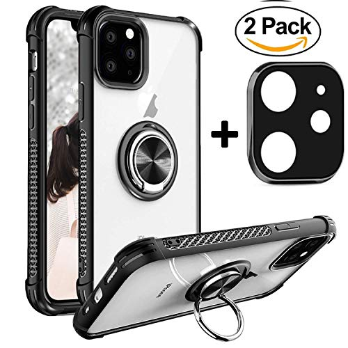 [해외]iPhone 11 Pro Max Casepop Socket Phone Ring Holder Work(Magnetic Car Mount) + iPhone 11 Camera Screen Protector Camera Lens for iPhone 11 Pro Max 6.5 / iPhone 11 Pro Max Casepop Socket, Phone Ring Holder, Work(Magnetic Car Mount) +...