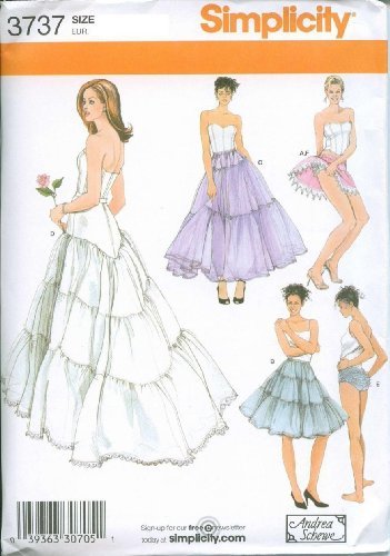 Simplicity Sewing Pattern 3737 Size HH (6, 8, 10, 12)