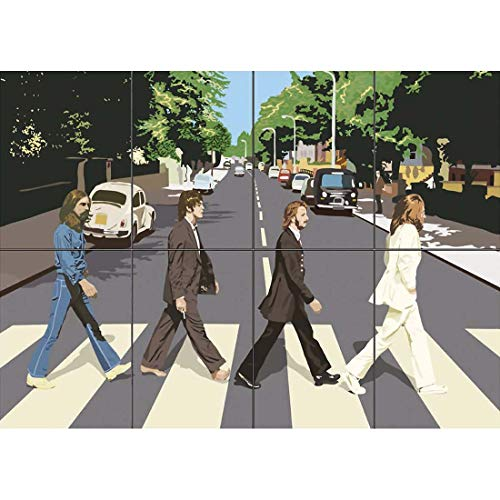 - THE BEATLES ABBEY ROAD GIANT WALL PRINT POSTER ST221