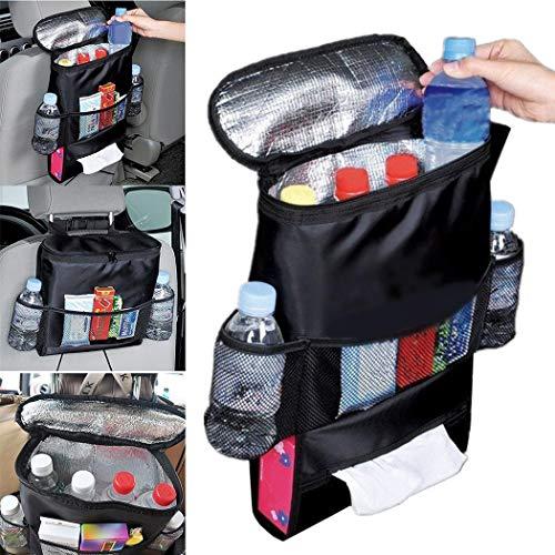 Etuoji Auto Car Back Seat Multi Pockets Storage Organizer Holder Insulation Bag Audio Integration Devices