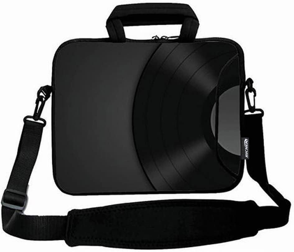 7-10.2 inch, Basketball Fire RICHEN 9.7 10 10.1 10.2 inches Messenger Bag Carring Case Sleeve with Handle Accessory Pocket Fits 7 to 10-Inch Laptops//Notebook//ebooks//Kids Tablet//Pad