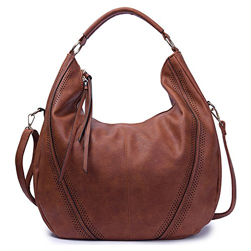 Buy brown slouchy purse