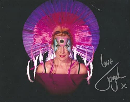 """10/"""" x 8/"""" Toyah in person signed photo Photo"""