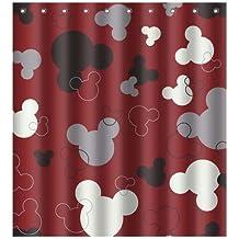 Bathroom Curtains Antimicrobial Polyester New Individual Home Bath 60x72 inch / 150x180 cm