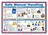 Safe Manual Handling Poster by Safety Savers