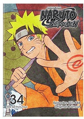 Naruto Shippuden Uncut Set 34 (Naruto 34)