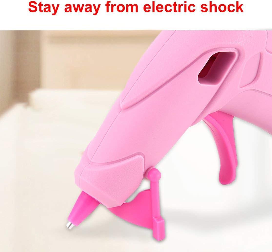 LouiseEvel215 USB Lade 5 V 1A Hei/ßklebepistole mit Klebestift f/ür DIY Handarbeit Reparatur Werkzeuge Elektrische W/ärme Temperatur Klebepistolen
