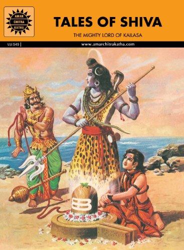 Tales of Shiva: The Mighty Lord of Kailasa (Amar Chitra Katha) Indian Comic Book (Epics and Mythology)