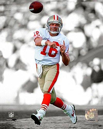 San Francisco 49ers Joe Montana 8x10 Action Photo Picture