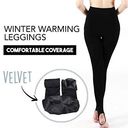 4a6c9716da157 Colorcasa 2019 Womens Thick Winter Warm Fleece Lined Insulated ...