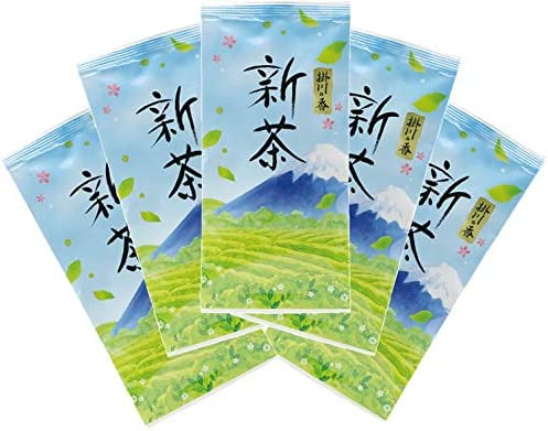 令和 新茶 100g5袋 令和2年産(2020年産) 令和摘み取り 静岡茶 掛川茶 一番茶100%