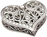 Fashioncraft Exquisite Heart Shaped Curio Box